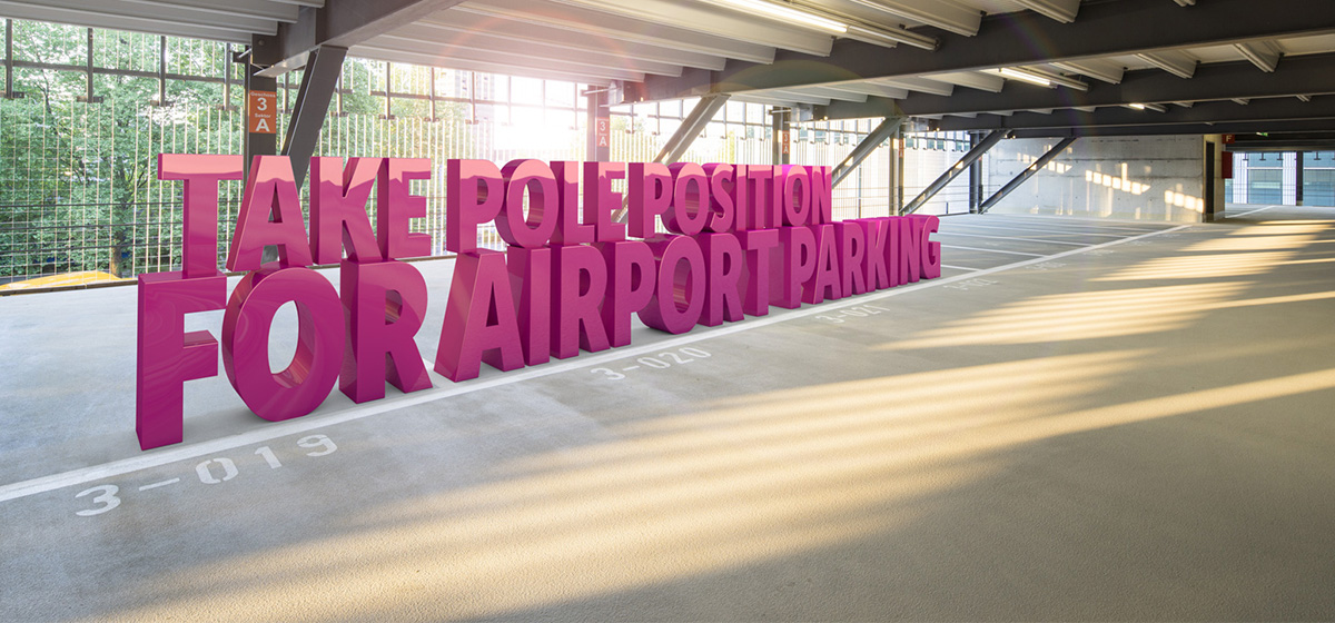 Take pole position for airport parking