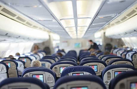 Fit und bequem durch den Flug Bild
