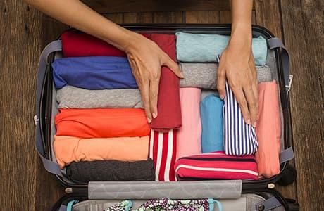 Koffer packen Bild
