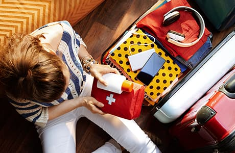 First-aid kit: what should you take?